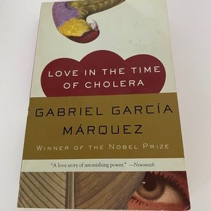`Love in the time of cholera' Book